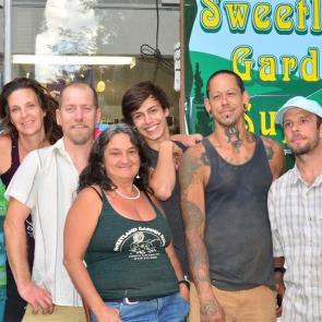 staff at sweetland garden supply