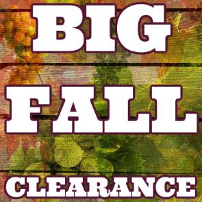big fall clearance