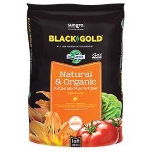 SunGro Black Gold Natural and Organic Soil