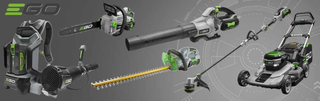 EGO Power+ battery-powered yard tools
