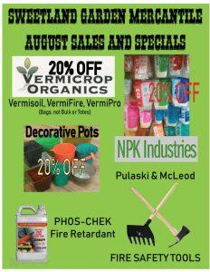 August 2019 Sales Flyer